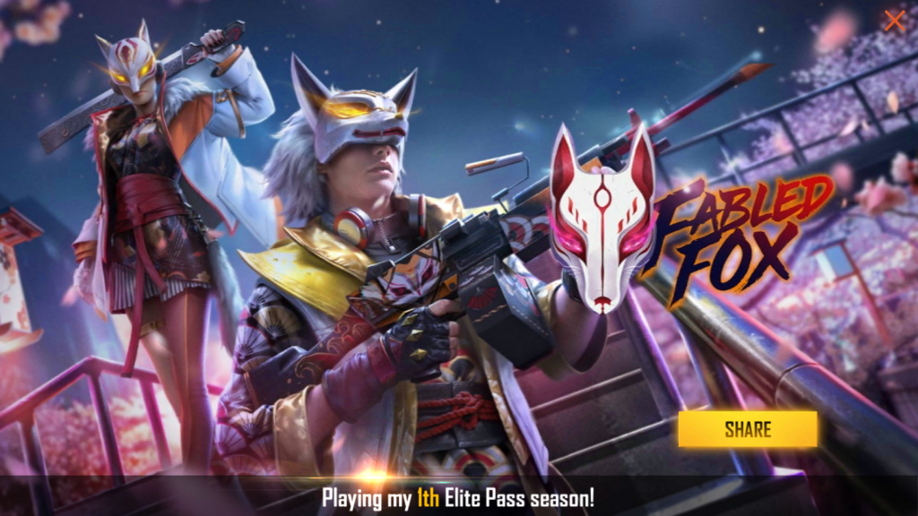 Fabled Fox Garena Free Fire